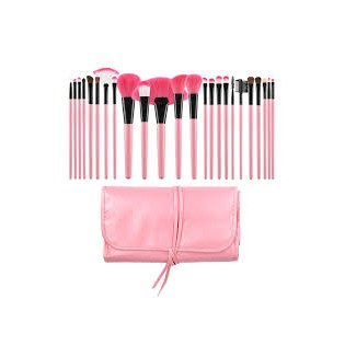 Tools For Beauty Set 24 Professional Pink Brushes