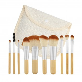 Tools For Beauty Set 10 Professional Brushes Travel Format