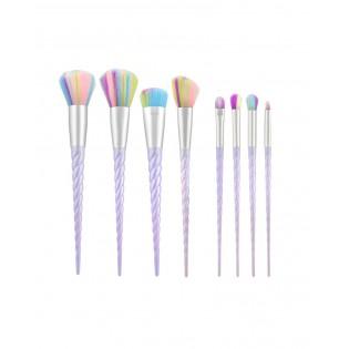 Tools For Beauty Set 8 Unicorn Professional Brushes