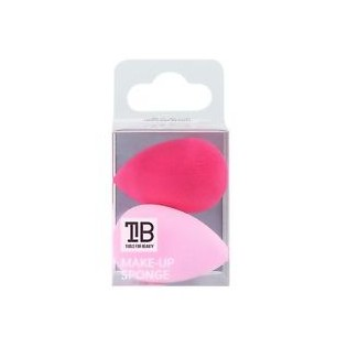 Tools For Beauty Mini Sponge Pink Corrective Makeup (2 Sponges)
