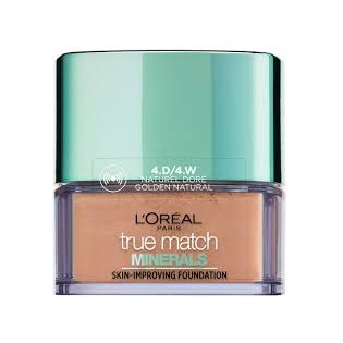 L'Oréal True Match Minerals Pó , 4.D/4.W Golden Natural 10g