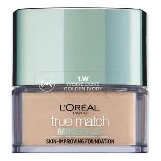 L'Oréal True Match Minerals Pó , 1.D/1.W Golden Ivory 10g
