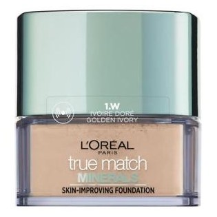 L'Oréal True Match Minerals Powder , 1.D/1.W Golden Ivory 10g