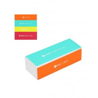 Cubo de lima de unhas com 4 lados de qualidade superior