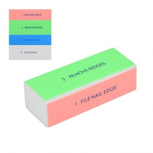 Nail file cube with 4 sides of top quality
