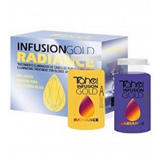 Tahe gold radiance tratamento de cabelos loiro 2x10ml