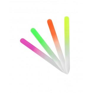 Lima de Unhas em vidro com bolsa de plástico padrão cores