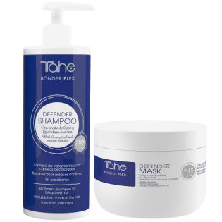 Tahe Defender Bonder Plex Shampoo 400ml + Mascara 300ML