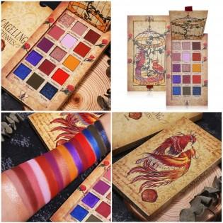 Palete Sombras com 15 cores
