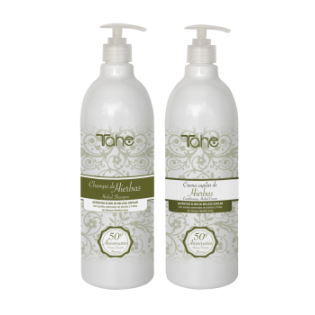 Tahe Duo Herbal Shampoo 1000ml + Mascara 1000ml