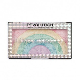 MAKEUP REVOLUTION Palette Iluminadora Rainbow Highlighter