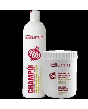 Blumin duo Cebola roxa Champo 1000ml + Mascara 700ml