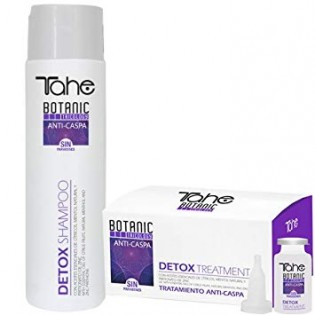 TAHE BOTANIC DETOX DUO SHAMPOO 300ML + 5X10ML TREATMENT