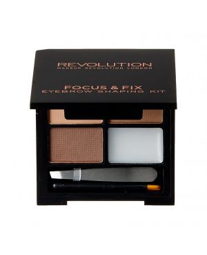 Revolution Focus & Fix Brow Kit - Light Medium 4g