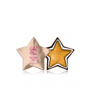 Revolution I Heart Star of the Show Highlighter Gold Star