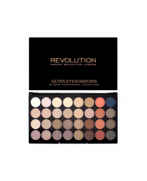 Revolution Ultra 32 Eyeshadow Palette Flawless Matte 2