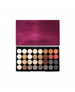 Revolution Ultra 32 Shade Eyeshadow Palette – Flawless 2