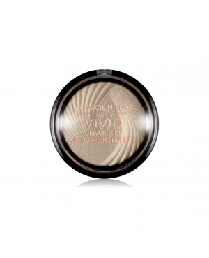 Vivid Revolution Baked Highlighter - Golden Lights