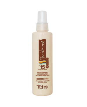Tahe Bronze Spray Sunscreen SPF15 200ml