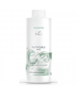 Wella Invigo Nutricurls Waves Shampoo 1000ml