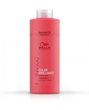 Wella Invigo Brilliance Coarse Champô Hair Thick 1000ml