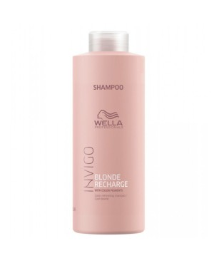 Wella Invigo Brilliance Cool Blonde Shampoo Blonde Hair 1000ml