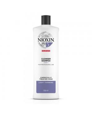 Nioxin Thinning 5 Step 1 Champo Para Cabelos Louros 1000ml
