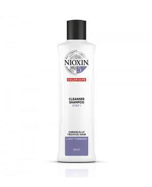 Nioxin Thinning 5 Step 1 Champo Para Cabelos Louros 300ml