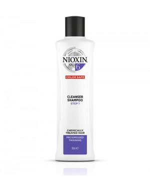 Nioxin Thinning 6 Step 1 Champo For Blonde Hair 300ml