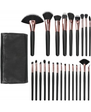 copy of Tools For Beauty Set 12 Kabuki Black Professional Pinceis