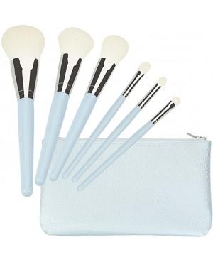Tools For Beauty Conjunto 6 Pinceis Profissionais Azul Pastel