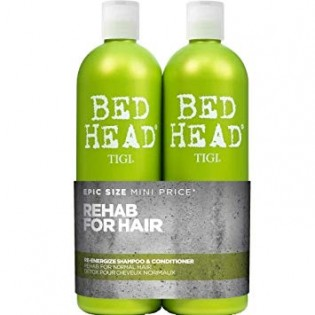 Tigi Bed Head  Re-Energize Duo Shampoo 750ml+Condicionador 750ml
