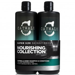 TIGI Catwalk Oatmeal and Honey Duo shampoo 750ml+condicionador 750ml