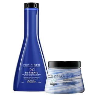 L'Oreal Duo  Pro Fiber Re-Create Duo Shampoo 250ml + Mascara 200ml